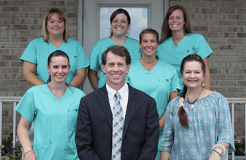 staff at wilmington oral surgery