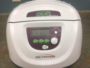 Platelet rich fibrin (PRF) centrifuge